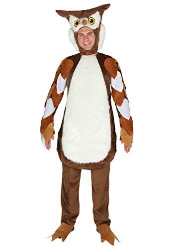 Fun Costumes Erwachsenes Eulen-Kostüm - - Eule Kostüm Für Erwachsene
