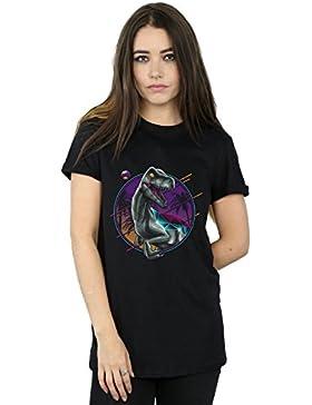 Vincent Trinidad Mujer RAD Velociraptor Camiseta del Novio Fit