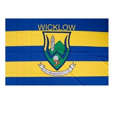 WICKLOW Offizielle Flagge Land Irland GAA Kamm 152 cm x91cm sehr begrenzt verfügbar -