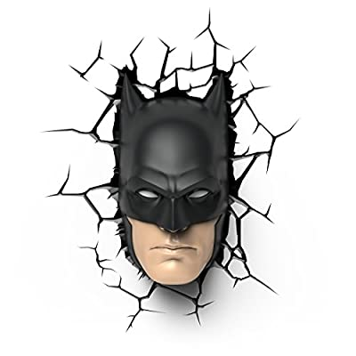 Batman Mask Dc Comics 3d Wall Deco Light - inexpensive UK wall light shop.