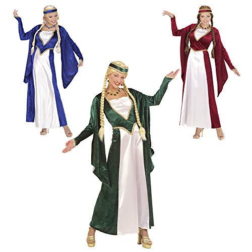 Widmann 57782 Kostüm Königin Renaissance, Gr. M, Sortierte Farben