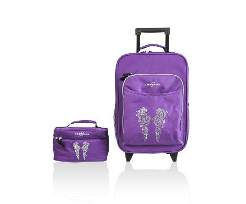 obersee-o3-kids-luggage-and-toiletry-bag-set-rhinestone-angel-wings