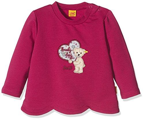 Steiff Collection Mädchen Sweatshirt Sweatshirt 1/1 Arm, Gr. 62, Rot (sangria 2031)