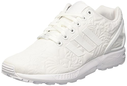 adidas Damen Zx Flux Sneakers, Weiß (Ftwr White/Ftwr White/Core Black), 38 2/3 EU