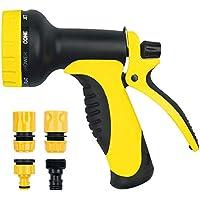 Pistola riego,Tintec Pistola de spray con boquilla,10 Modos Adjustables,para lavado de coches,jardinería,lavado de mascotas,lavado de suelo