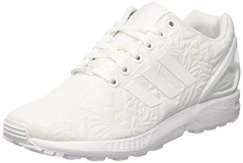 hot sales 60c9b 85c70 ... best price adidas zx flux scarpe da ginnastica basse donna bianco ftwr  white ftwr white af837 ...