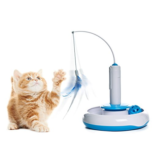 pawz-road-cat-chase-toy-iq-chasing-plate-pets-products-kitten-toys-with-moving-butterfly-and-ball