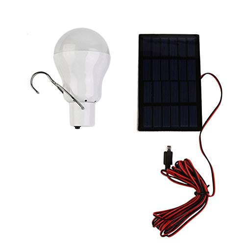 ningbao951 15W 150 Portable Solar Power LED Bulb Solar Powered Light  Charged Solar Energy Lamp Outdoor Flashlight Camp Tent Fishing Light