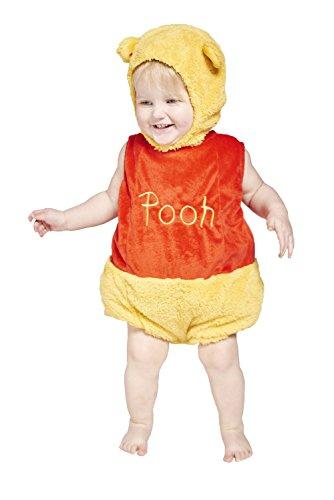 Amscan DCWIN-TA-06 - Kostüm - Winnie Puuh - Fleece Spieler mit Kapuze, gelb