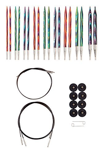 Knit Picks Options Interchangeable Wood Knitting Needle Set (Mosaic)