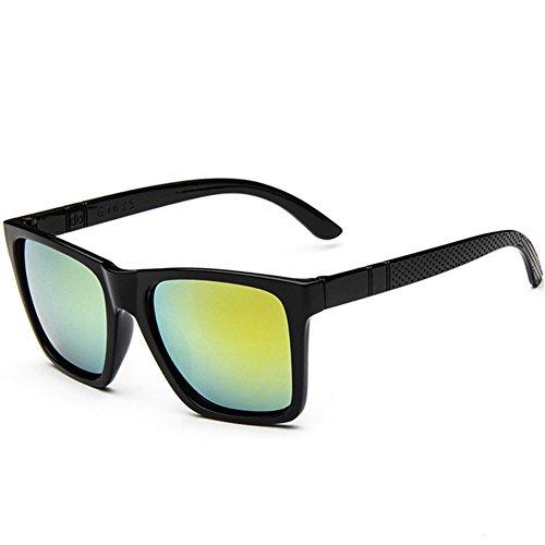 Z-P New Fashion For Lady Reflective UV400 Square Sunglasses 55MM
