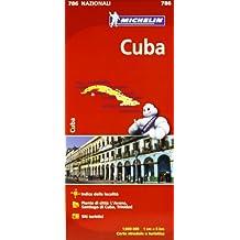 Carta stradale. Cuba