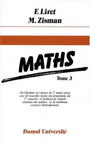 Mathématiques, tome 3