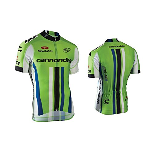 Cannondale Pro Cycling Jersey Short Sleeve Green