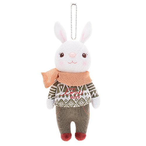 tingyao-me-too-tiramitu-stuffed-bunny-dolls-baby-rabbit-toys-dress-10-inches-yellow