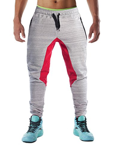 Men's Gym Fashion Sport Pants Fitness Workout Running Trousers