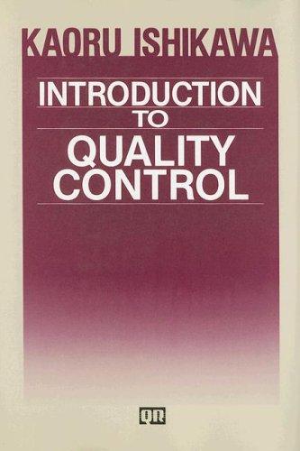 kaoru ishikawas influence in quality management essay