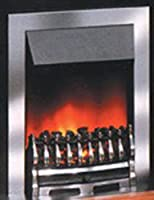 Dimplex Wynford Inset Fire, 2 kW, Chrome