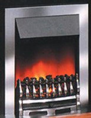 Dimplex Wynford Inset Fire, 2 kW, Chrome