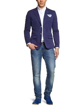 pepe jeans herren sakko pm400591 brasco blau scout blue s bekleidung. Black Bedroom Furniture Sets. Home Design Ideas