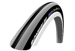 schwalbe schwc012 rightrun pneu pour roue de fauteuil roulant noir rouge 106 cm largeur 2 5 cm. Black Bedroom Furniture Sets. Home Design Ideas