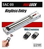 SBJ Maglock Door Lock with Remote Control Access