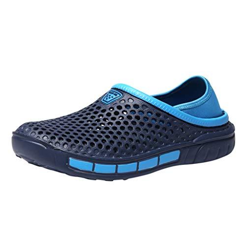 len/Strandschuhe Pantoletten Hausschuhe,Herren Sommer Indoor Sports Slippers Freizeitschuhe Slip-On Beach Walk Schuhe ()