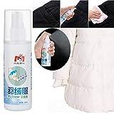 99native 100ml Flüssigkeit Damen Daunenjacke Waschfreies Spray Reinigungsmittel Universal Vollwaschmittel (Weiß)