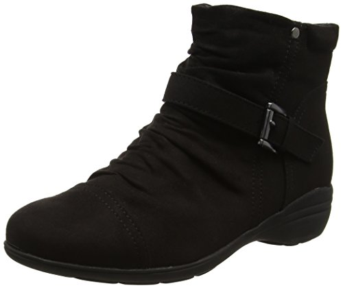 Sconosciuto - Ruched Ankle, Stivali Chelsea Donna Black (Black)