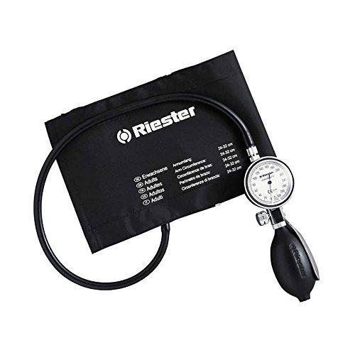 Riester 1312 minimus II Blutdruckmessgerät, Klettenmanschette Erwachsene, - Blutdruckmanschette Erwachsene