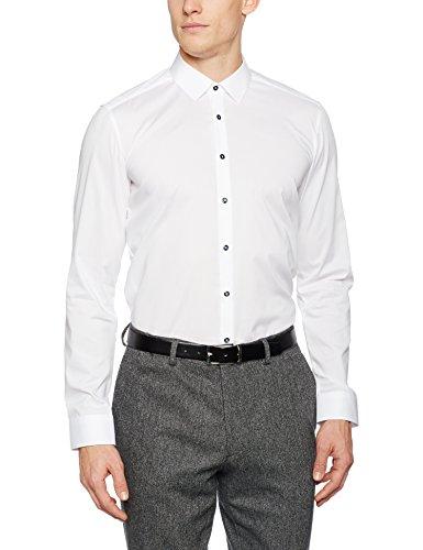 Eterna Camicia Uomo Bianco (Weiß 0)