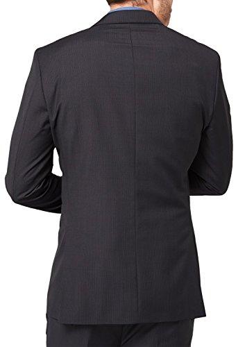 Sir Oliver 12.408.54.1993 - Veste de Costume - à rayures - Homme Gris (Grey/Black Stripes 99G8)