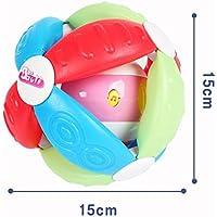 Preisvergleich für Baby-lustiges Spielzeug Kinder pädagogische Musik bunte sensorische Ball Kinder Funnny Hand Ball Spielzeug Geschenk