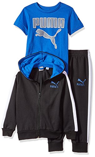 Puma Jogginganzug, Sportanzug + T-Shirt, Kinder, Jogginghose, Hoodie, 18 Monate
