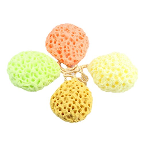 Generic Bath Scrubber Shower Spa Sponge Body Cleaning Scrub Scrubber Random Colors Bath Ball High Quality