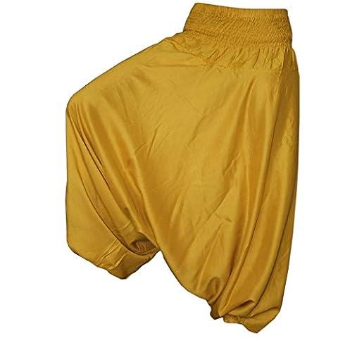 Pantalon Femme Dore - Panasiam, pantalon bouffant dans coloris