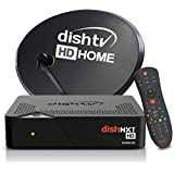 Dish TV HD DTH Set Top Box with 1 Month Subscription of Hindi HD Pack + Installation