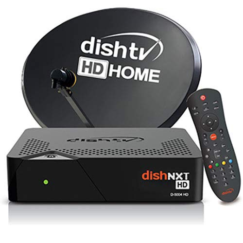 Dish TV HD Box with 1 Month Super Family HD - Hindi