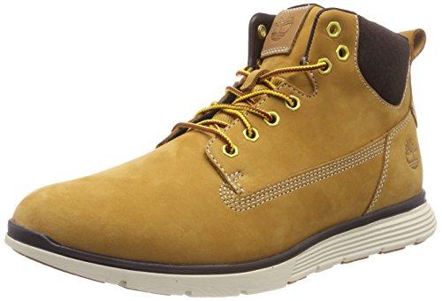Timberland Killington Chukka, Sneaker a Collo Alto Uomo, Giallo (Wheat 231), 40 EU