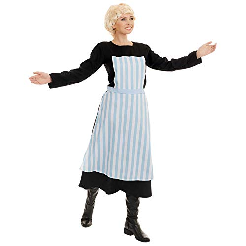 Erkennbar Kostüm Sofort - Fun Shack Damen Costume Kostüm, Movie Musical Nanny, XL
