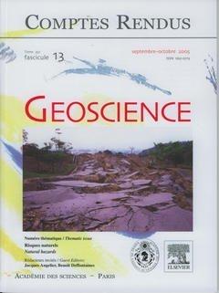 Comptes rendus Goscience : Tome 337, fascicule 13, Risques naturels
