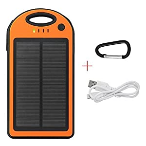 Parent mit Solar Powerbank 12000 from iProtect
