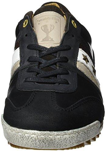 Pantofola d'Oro Imola Adesione Uomo Low, Basses Homme Schwarz (.25Y)