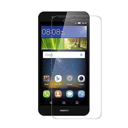[2 Pack] Huawei P8 Lite Smart Schutzfolie, AICEK Touch Kompatibel Huawei P8 Lite Smart 5,0 Zoll Displayschutzfolie Panzerglas Displayschutz Screen Protector 9H Hardness Gehärtetem Glas