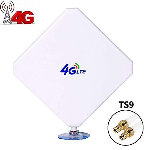 TS9 4G Antenna LTE 35dBi Dual Mimo 3G/4G/GSM ad alte usato  Spedito ovunque in Italia