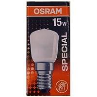 OSRAM T26 Bombilla Incandescente, E14, 15 watts, Trasparente, 1 Unidad