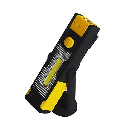 heinwerfer Led Taschenlampe USB Arbeits Licht Wiederaufladbare Magnetische H?ngende Haken Lampe Camping Auto Reparatur Bar Licht Taschen Lampe ()