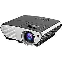 "LESHP Proyectores, Beamer Proyectores Video Portátil (3200 lúmenes, LCD, 1080p (1920x1080), 3000:1, 4: 3/ 16:9, 1100~6000 mm (32""~200"")) (Negro 2000 lumens)"