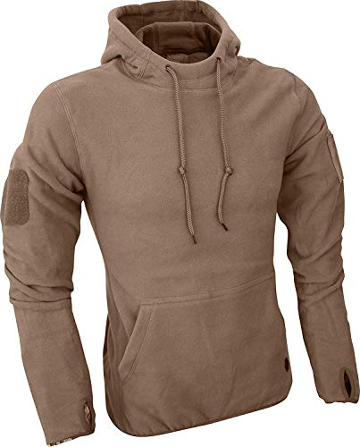 Viper TACTICAL - Herren Fleece-Kapuzenpullover - Coyote - L