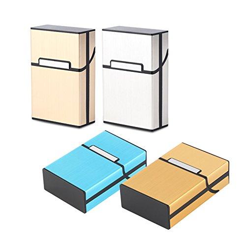 Kent Marks Light aluminum sigaretta sigaro di tasca scatola contenitore portaoggetti